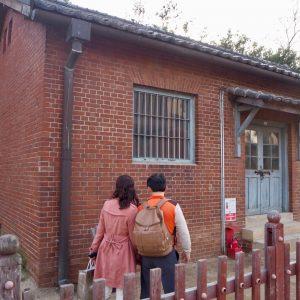 ハンセン病患者を隔離するための建物