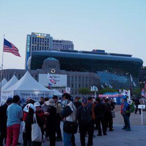 ソウル市庁前広場