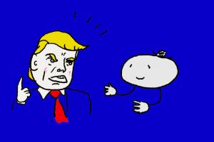トランプ大統領が怒っている