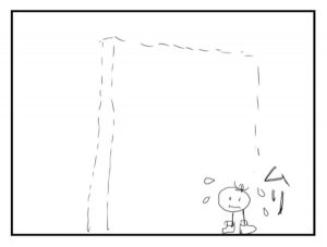 イラスト「見えない壁」
