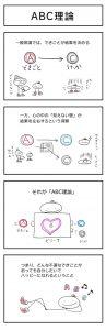 4コマ漫画「ABC理論」