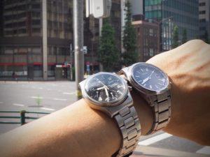 時計を2つ