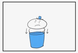ビリーフの水位を下げる