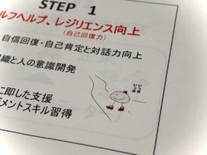 一歩一歩のイラスト