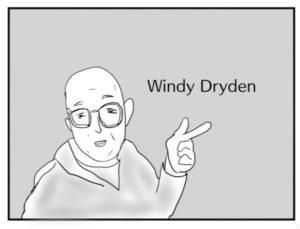 ドライデン先生のイラスト